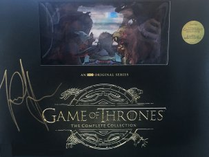Signed Game of Thrones prize to win!