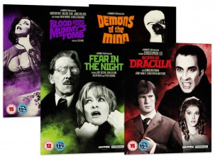 Win a collection of Hammer Horror films on Blu-ray and DVD
