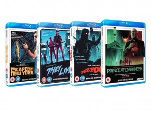 Win four John Carpenter cult classics on Blu-ray