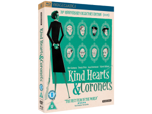 Win a collector's edition of Kind Hearts & Coronets on Blu-ray and DVD