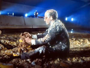 Rare images of the Dr Strangelove custard pie fight - image
