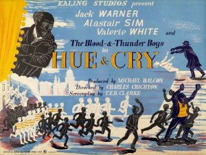 That Ealing poster: Hue and Cry - image