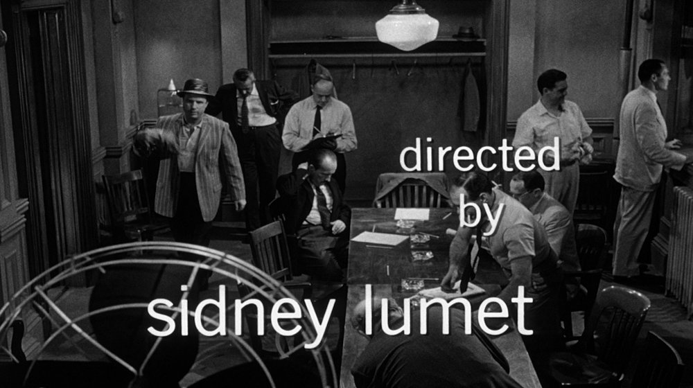 5. … cross fades into Lumet's five-minute-plus opening jury deliberation room shot that sets up the individual members and certain relationships over the credits and beyond.