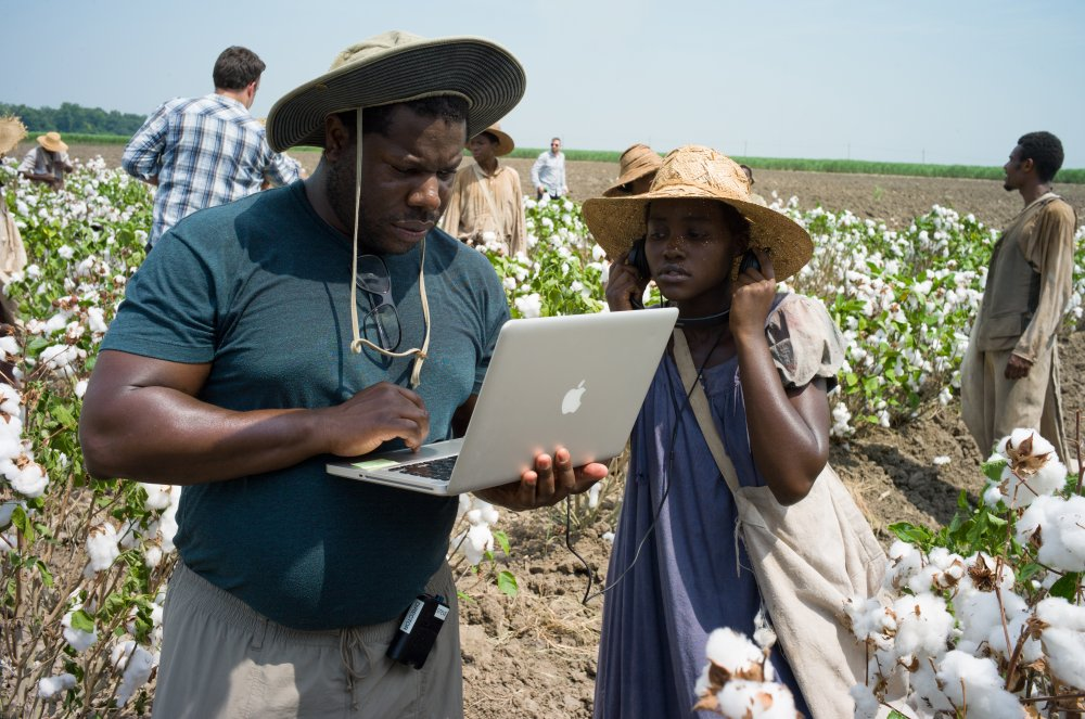 Steve McQueen on location for 12 Years a Slave (2013)