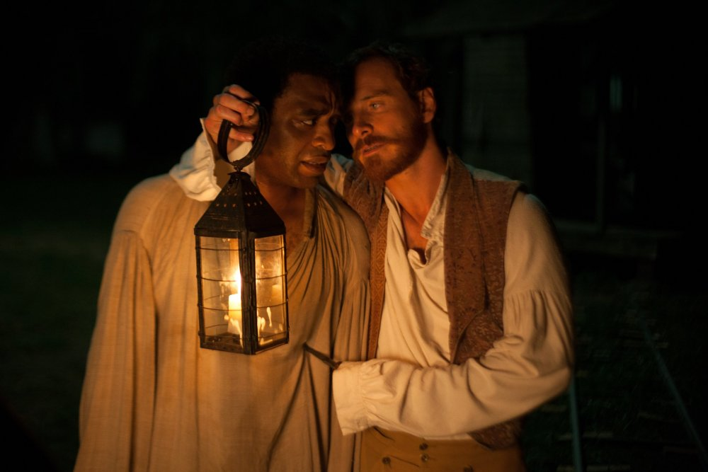 The body snatched: Chiwetel Ejiofor with Michael Fassbender in 12 Years a Slave