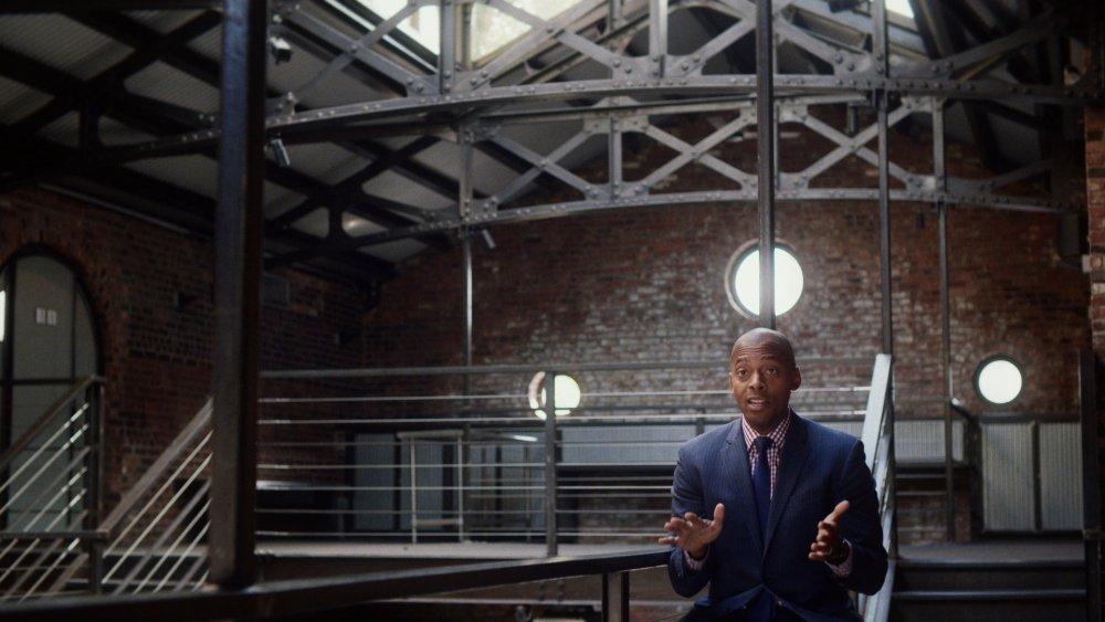 Khalil Muhammad in Ava DuVernay's US mass-incarceration documentary The 13th
