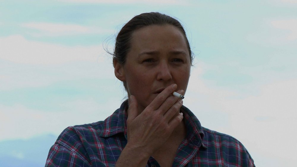 Sharon Lockhart in Benning's 20 Cigarettes (2011)