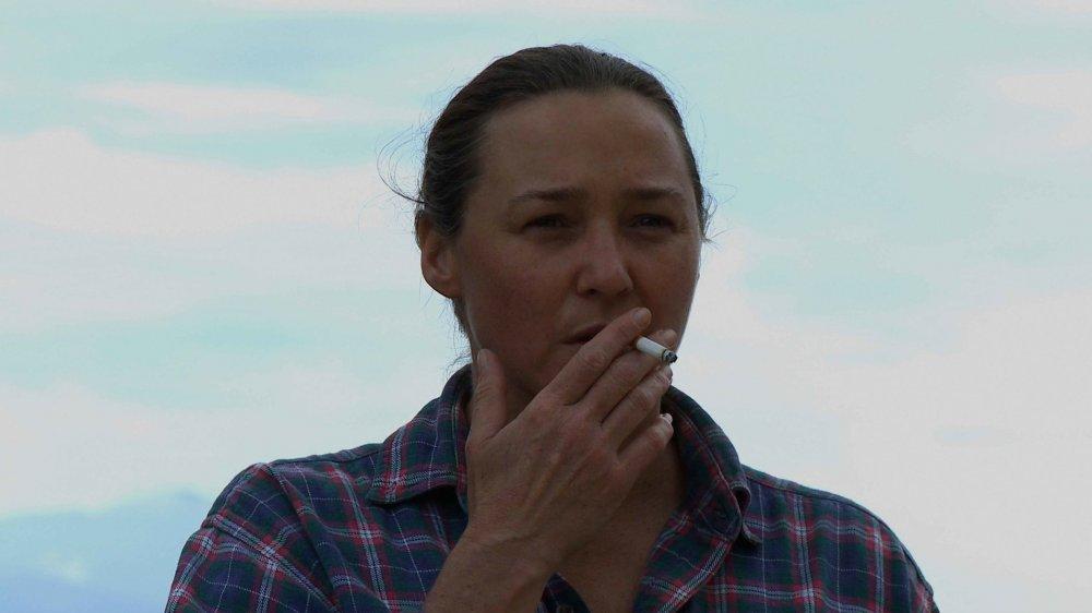 Sharon Lockhart in Benning's 20 Cigarettes (2011)