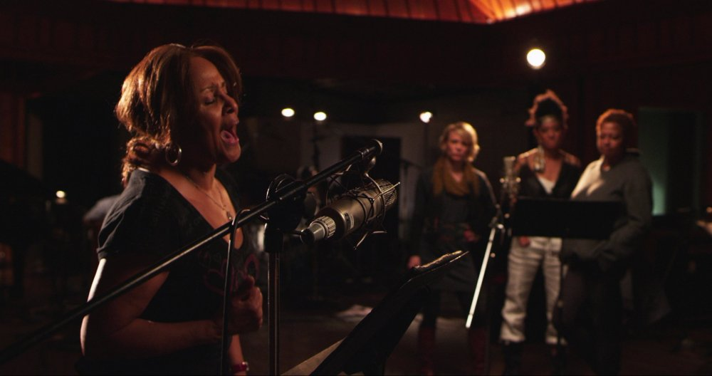 Darlene Love and fellow backing singers