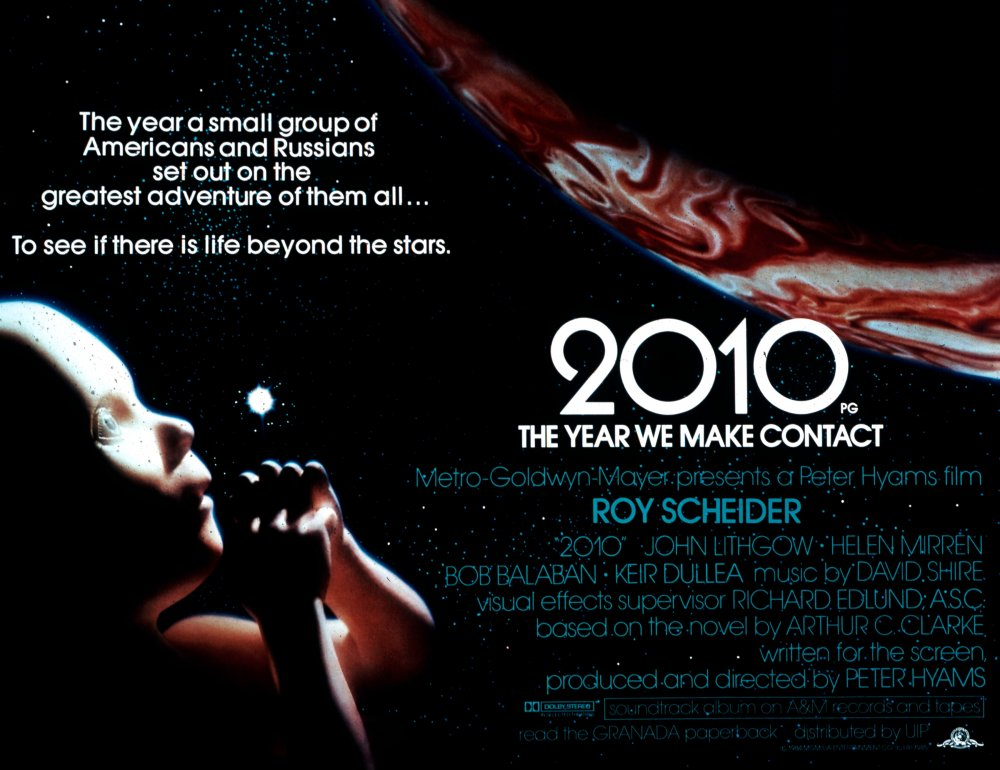 2010 (1984) poster