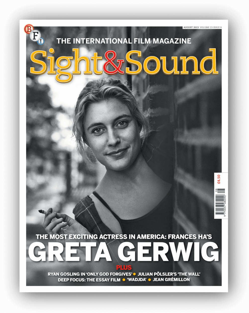 sight sound the issue bfi is our issue cover star an actress we re not afraid to ringingly declare the most exciting working in america today her latest film s ha