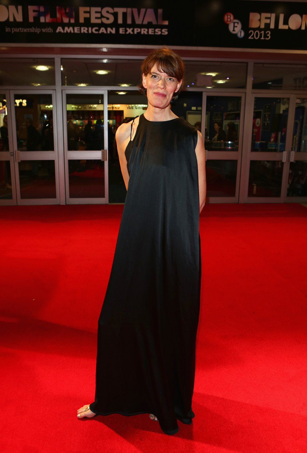Director Clio Barnard attends The Selfish Giant screening during the 57th BFI London Film Festival at Odeon West End.