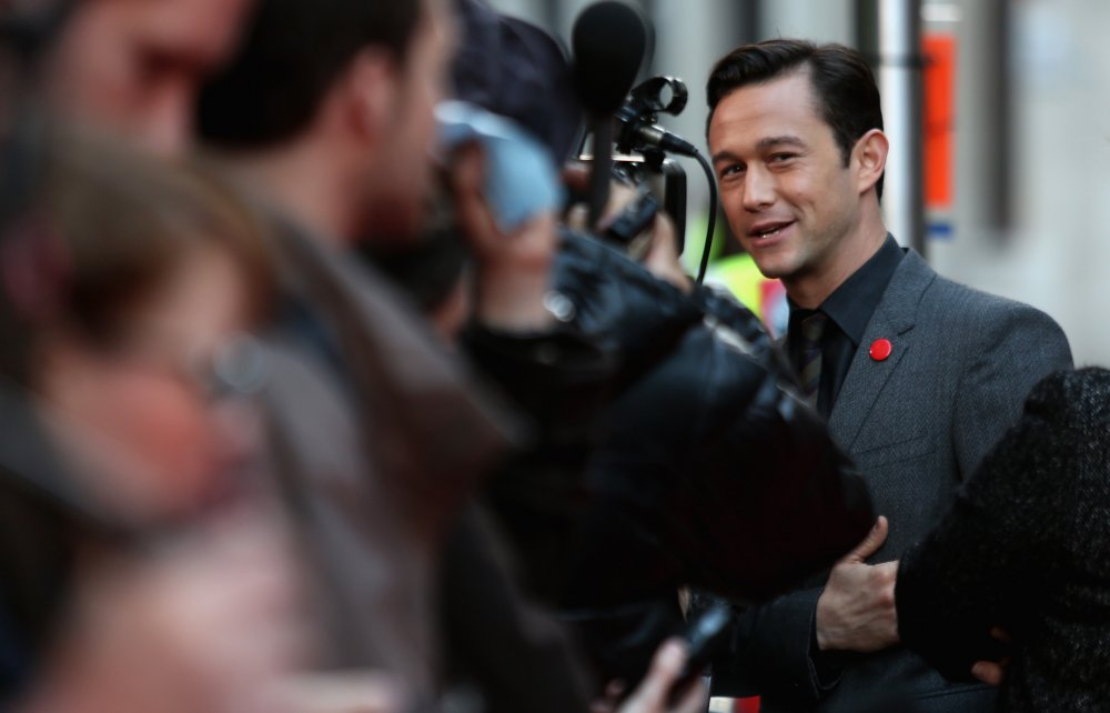Joseph Gordon-Levitt attends a screening of Don Jon (2013) at the 57th BFI London Film Festival at Odeon West End.