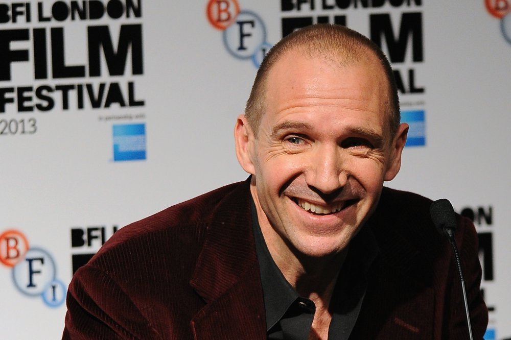 Ralph Fiennes attends a press conference for The Invisible Woman (2013) during the 57th BFI London Film Festival.