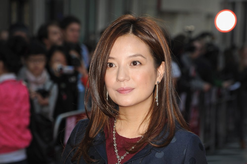 Director Vicki Zhao attends a screening of So Young during the 57th BFI London Film Festival at Odeon West End.