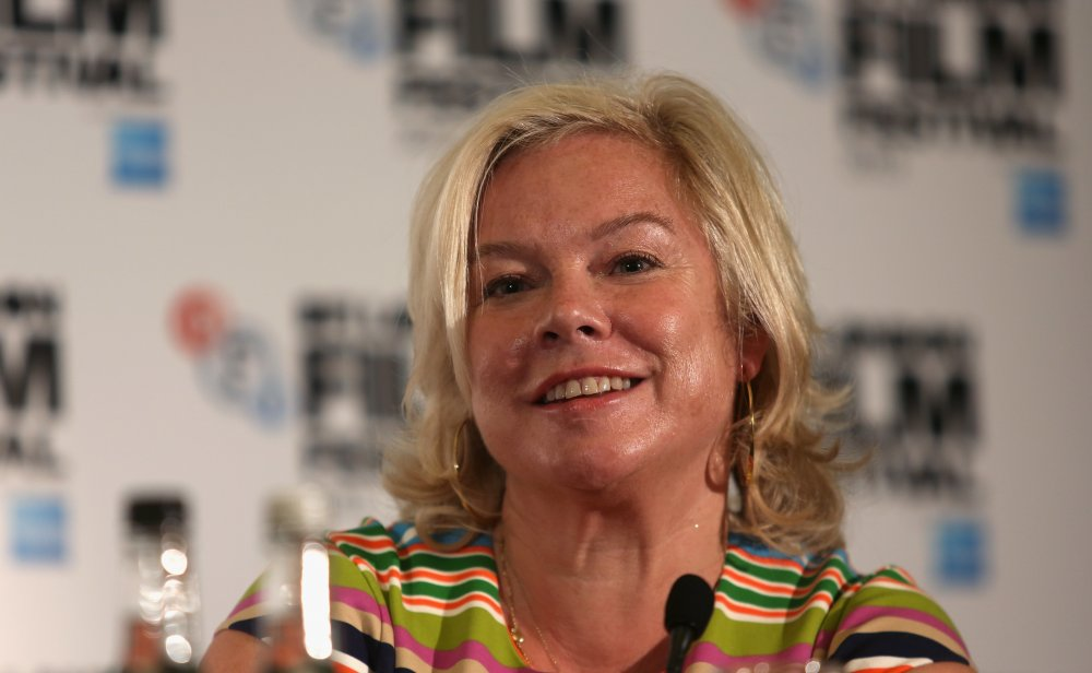 Producer Alison Owen attends the Saving Mr. Banks (2013) press conference on day 12 of the 57th BFI London Film Festival.