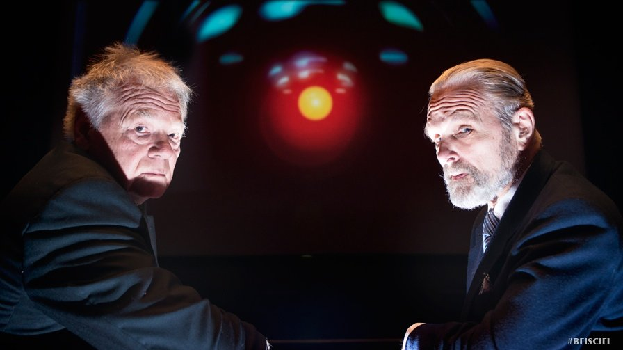 2001: A Space Odyssey: Gary Lockwood and Keir Dullea now