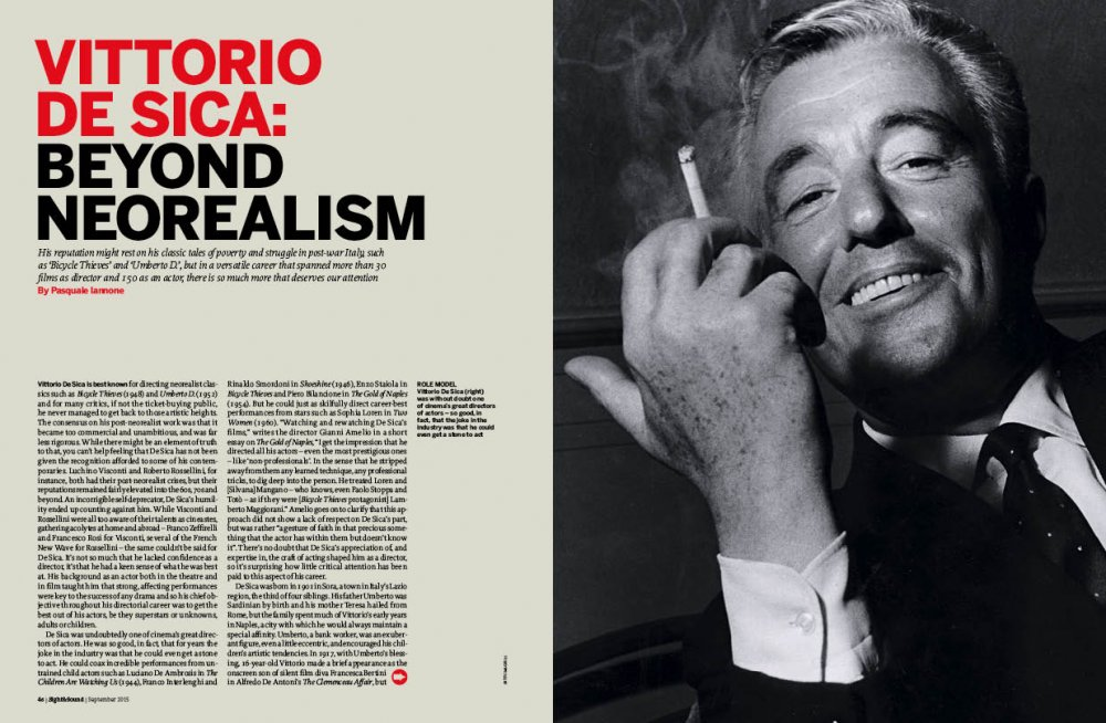 Vittorio De Sica: Beyond Neorealism