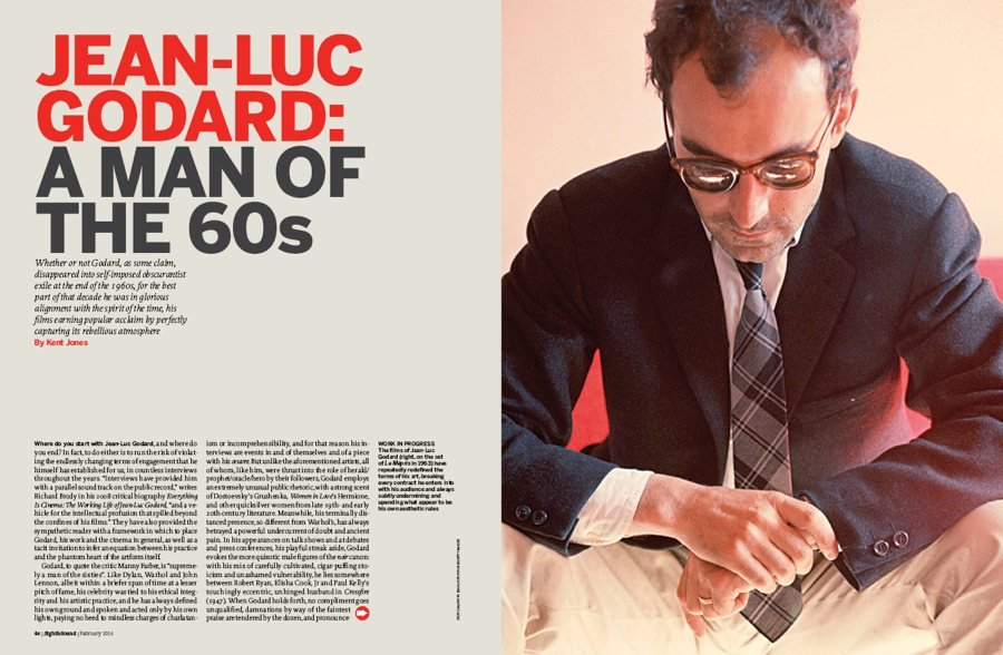 Jean-Luc Godard: A Man of the 60s