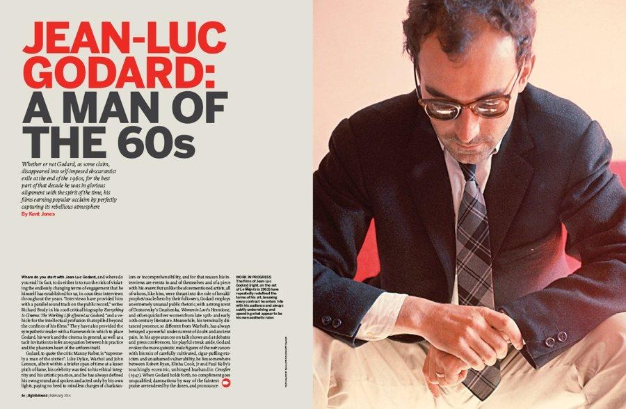 Jean-Luc Godard: A Man of the 60s