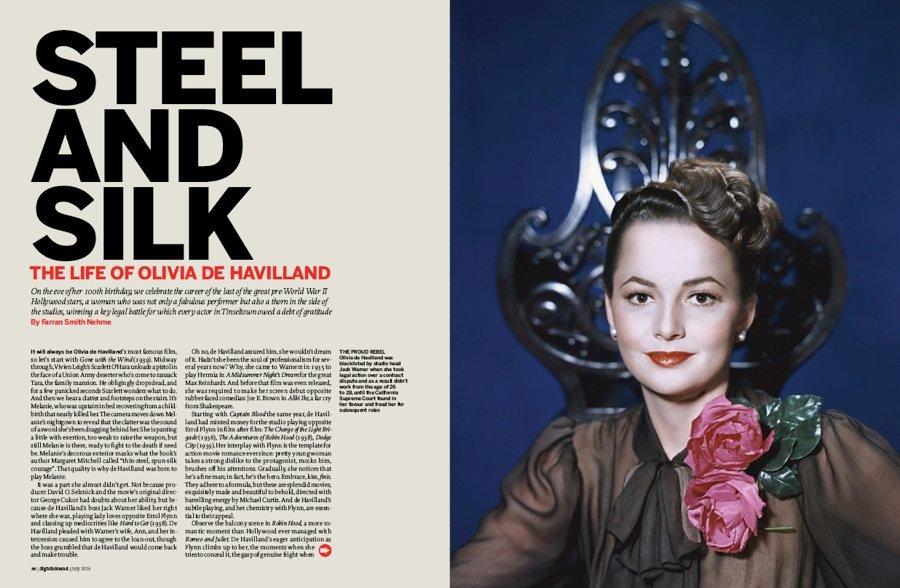 Steel and Silk: the Life of Olivia de Havilland