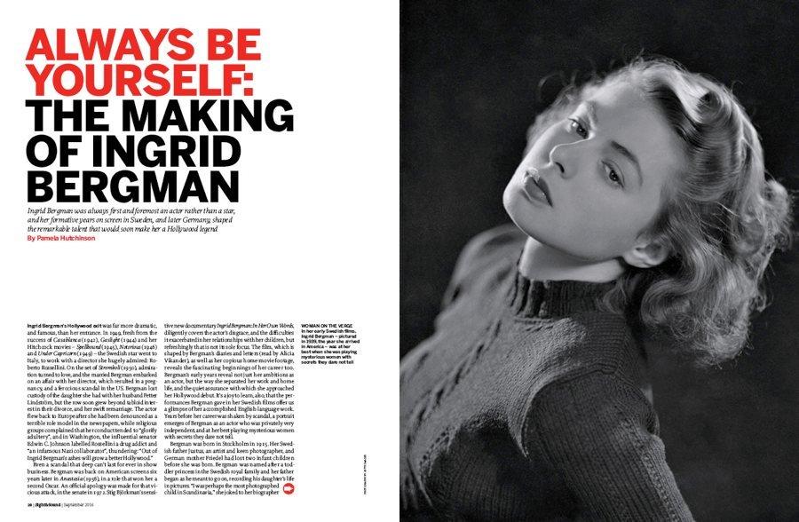Always Be Yourself: The Making of Ingrid Bergman