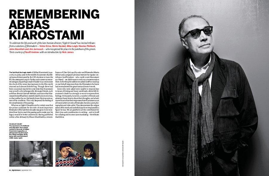 Remembering Abbas Kiarostami