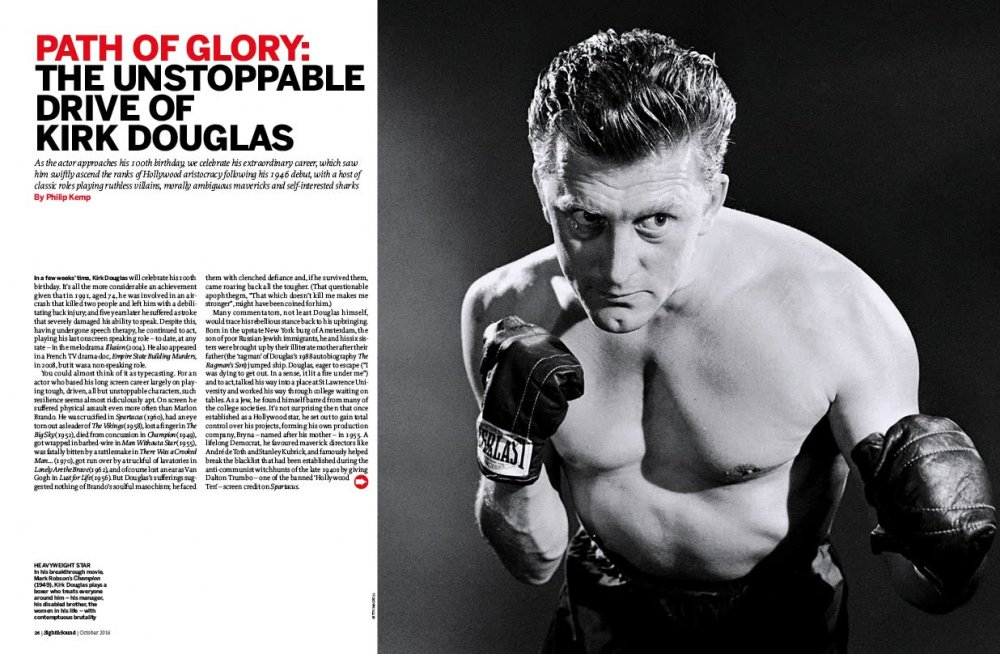 Path of Glory: the Unstoppable Drive of Kirk Douglas