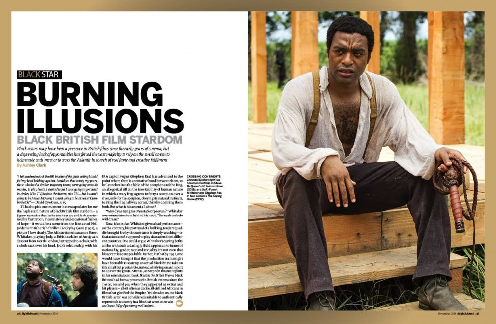 Burning illusions: Black British film stardom