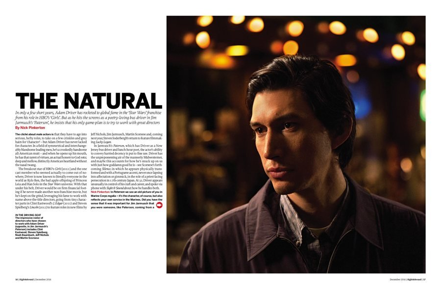 The Natural: Adam Driver