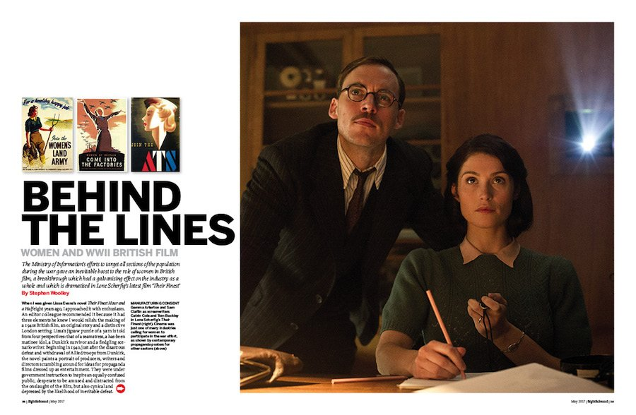 Behind the Lines: Women and WWII British Film