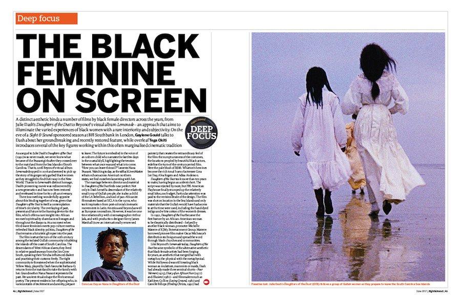 Deep focus: The Black Feminine on Screen