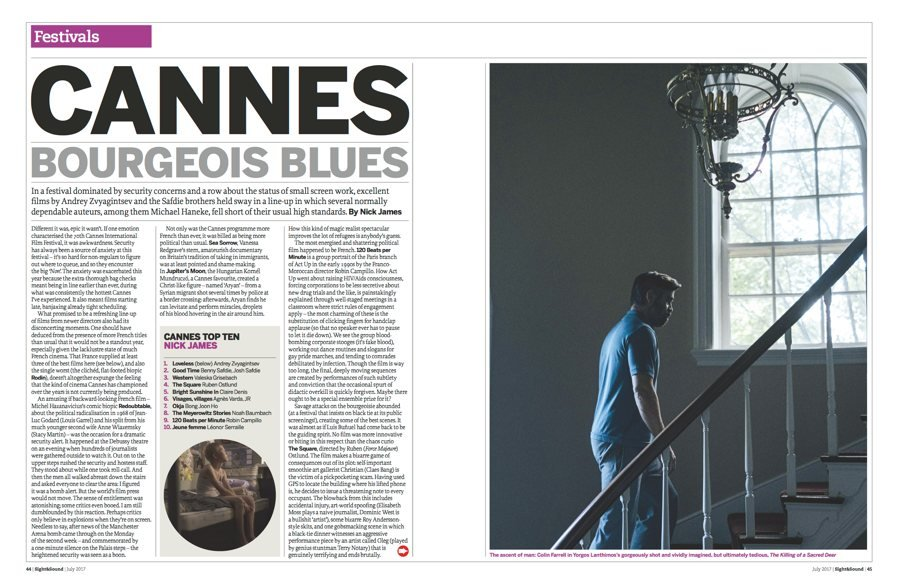 Cannes: Bourgeois Blues