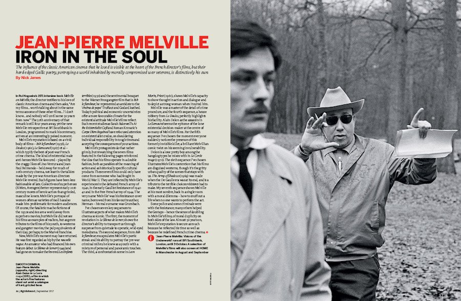 Jean-Pierre Melville: Iron in the Soul