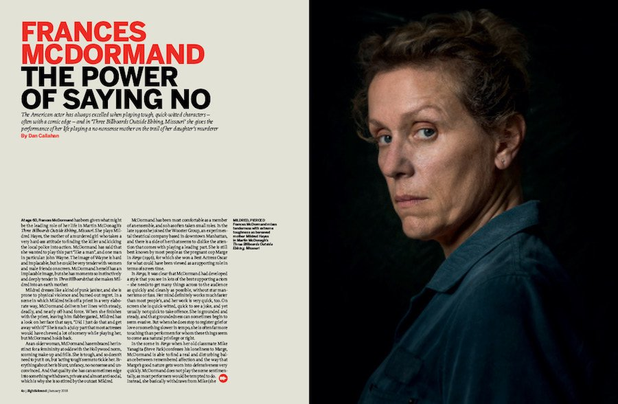 Frances McDormand: The Power of Saying No