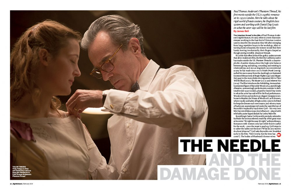 Phantom Thread: The Needle and the Damage Done