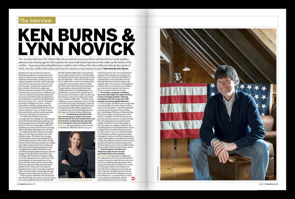The S&S Interview: Ken Burns and Lynn Novick