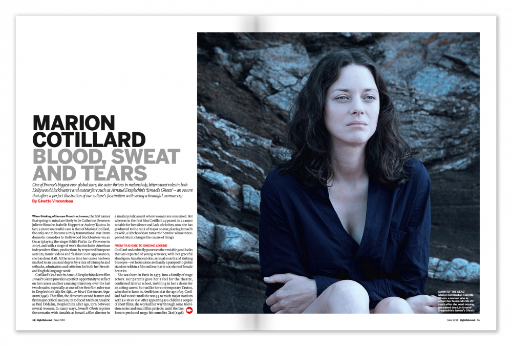Marion Cotillard: Blood, Sweat and Tears