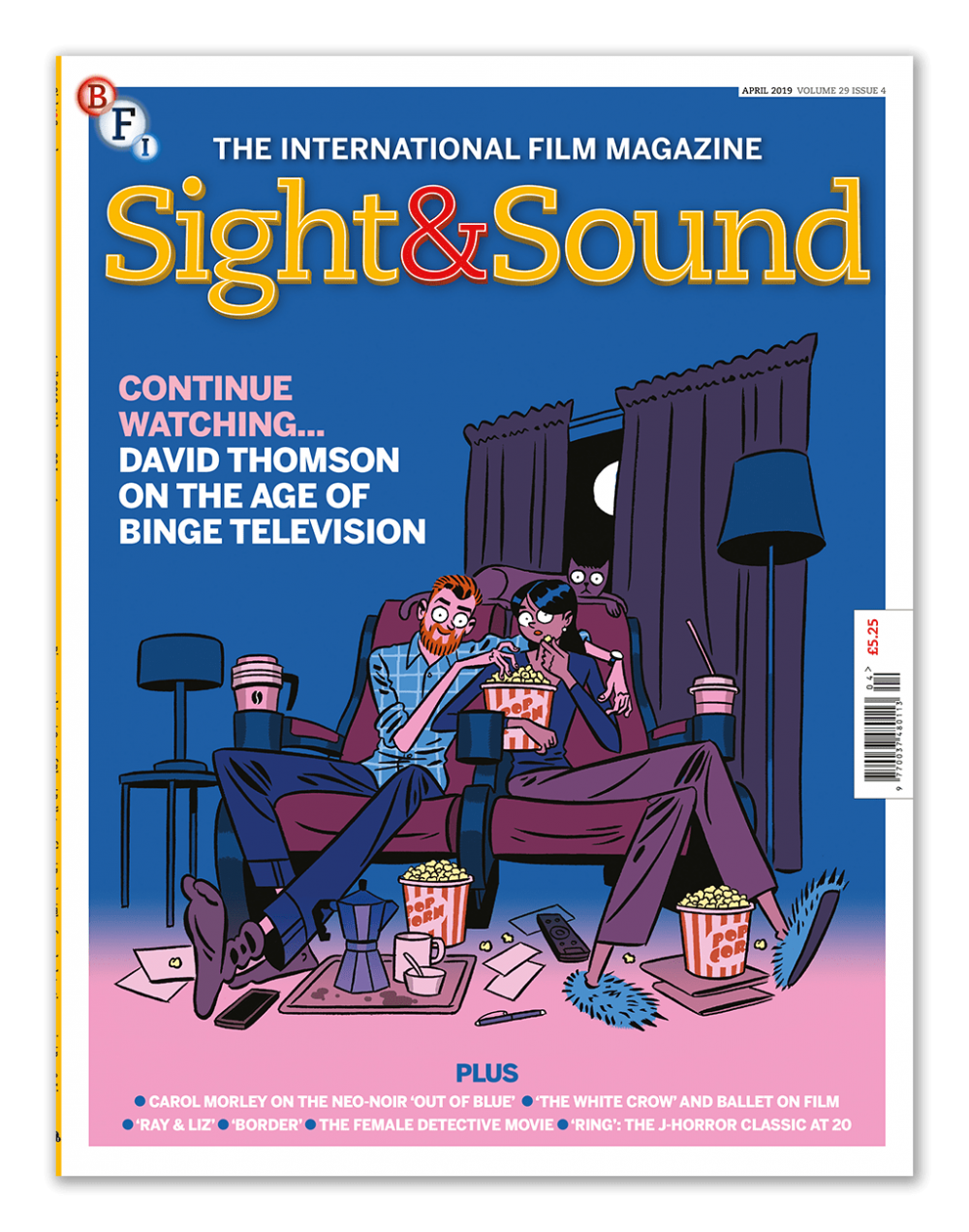 Sight & Sound: the April 2019 issue | BFI