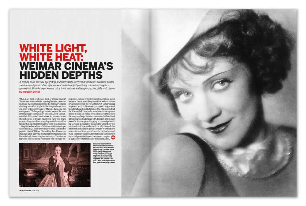 White Light, White Heat: Weimar Cinema's Hidden Depths