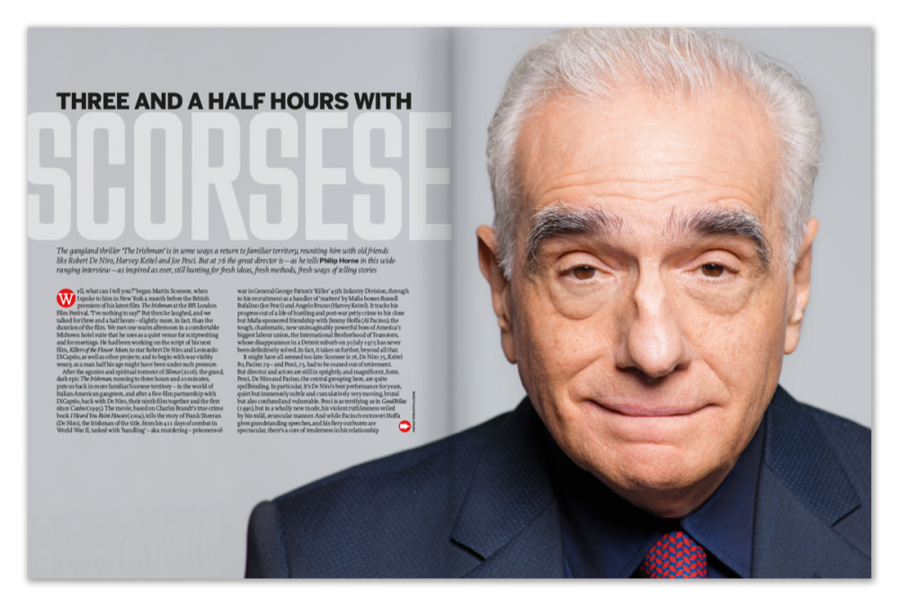Three and a half hours with Martin Scorsese
