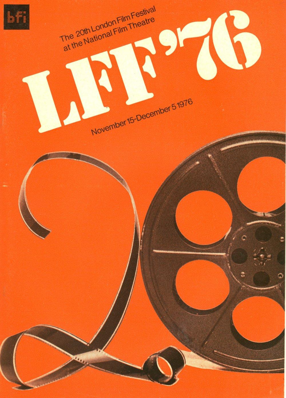 20th London Film Festival poster