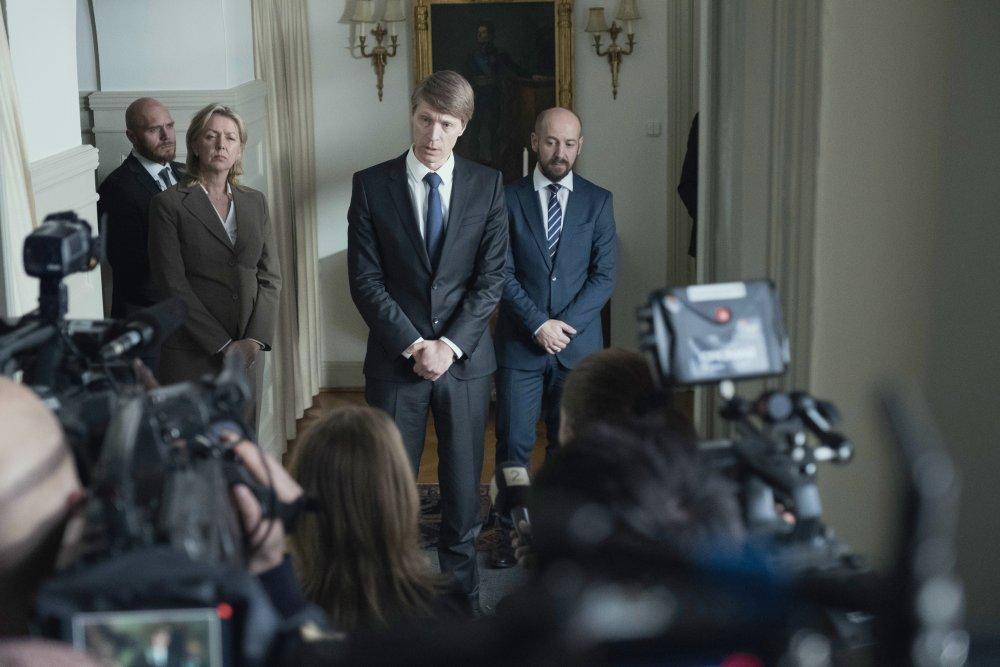 Ola G. Furuseth as Prime Minister Jens Stoltenberg