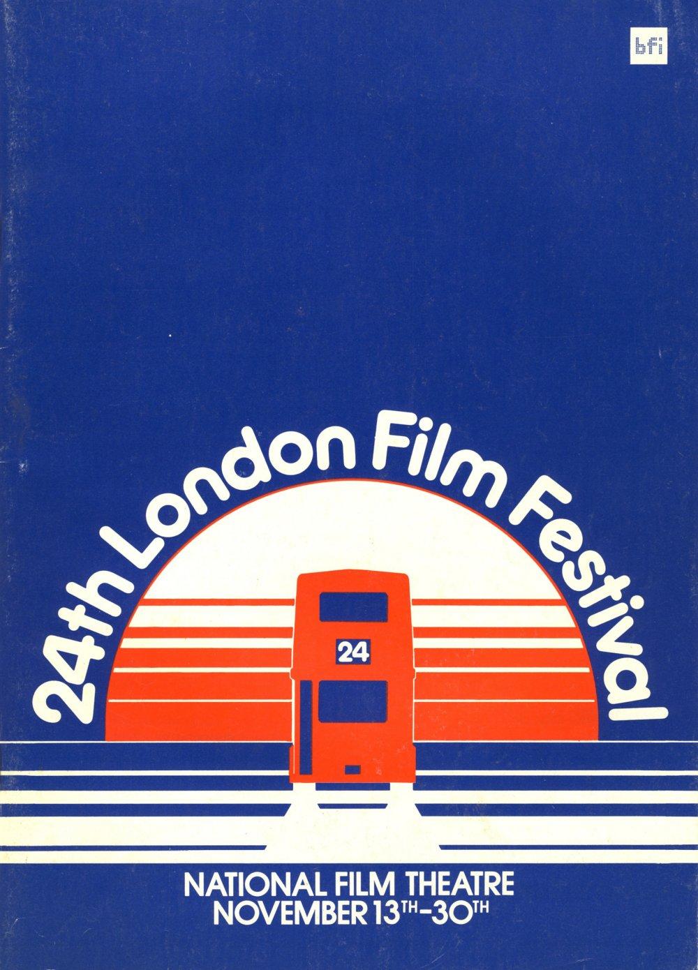 24th London Film Festival poster