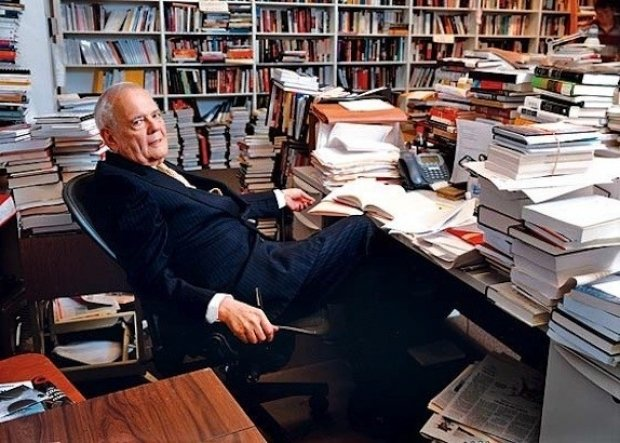 New York Review of Books founding editor Robert Silvers in The 50 Year Argument