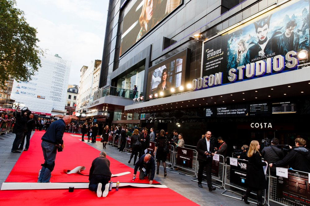 The 58th BFI London Film Festival: red carpet