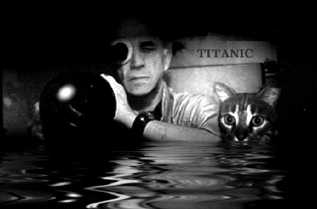 Chris Marker photographed by Wim Wenders