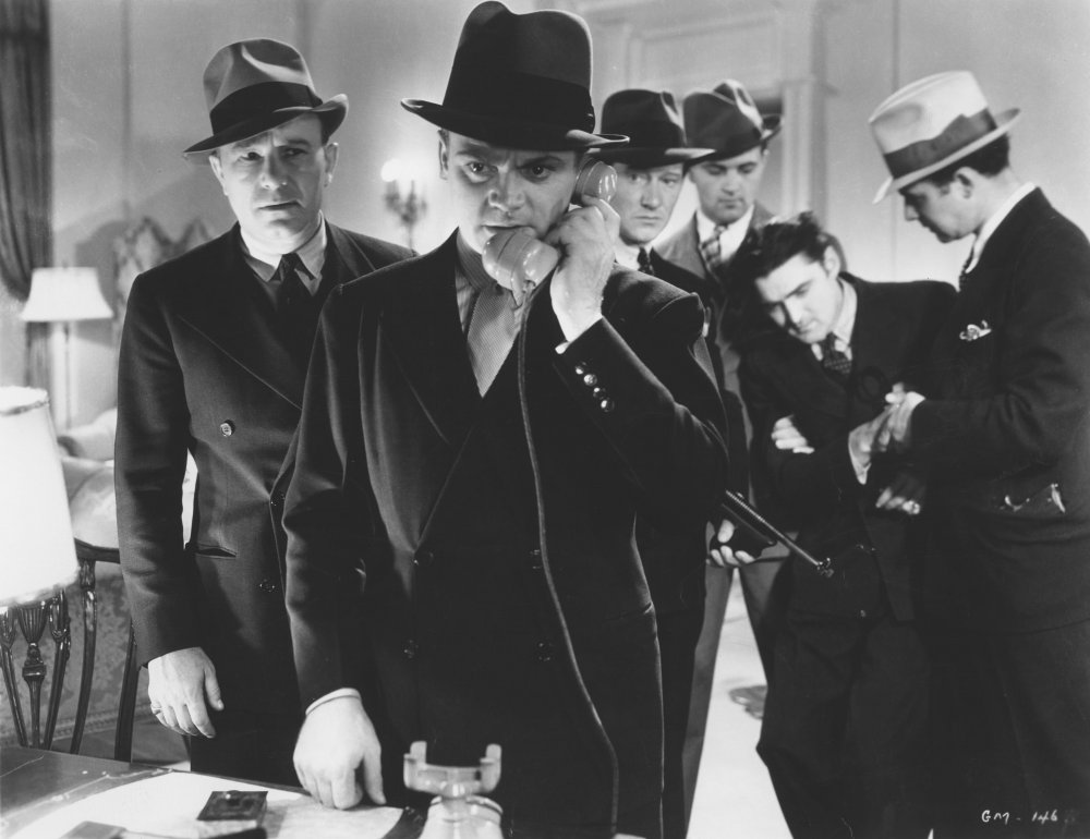 "James Cagney in ""G"" Men (1935)"