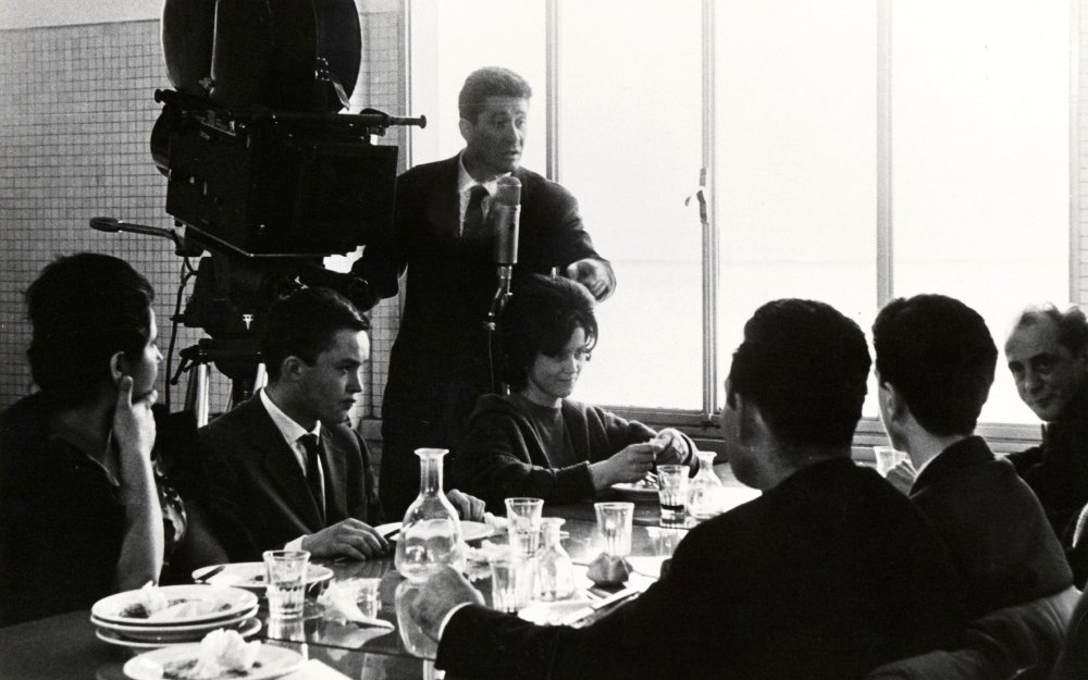 Ermanno Olmi shooting Il Posto (1961)