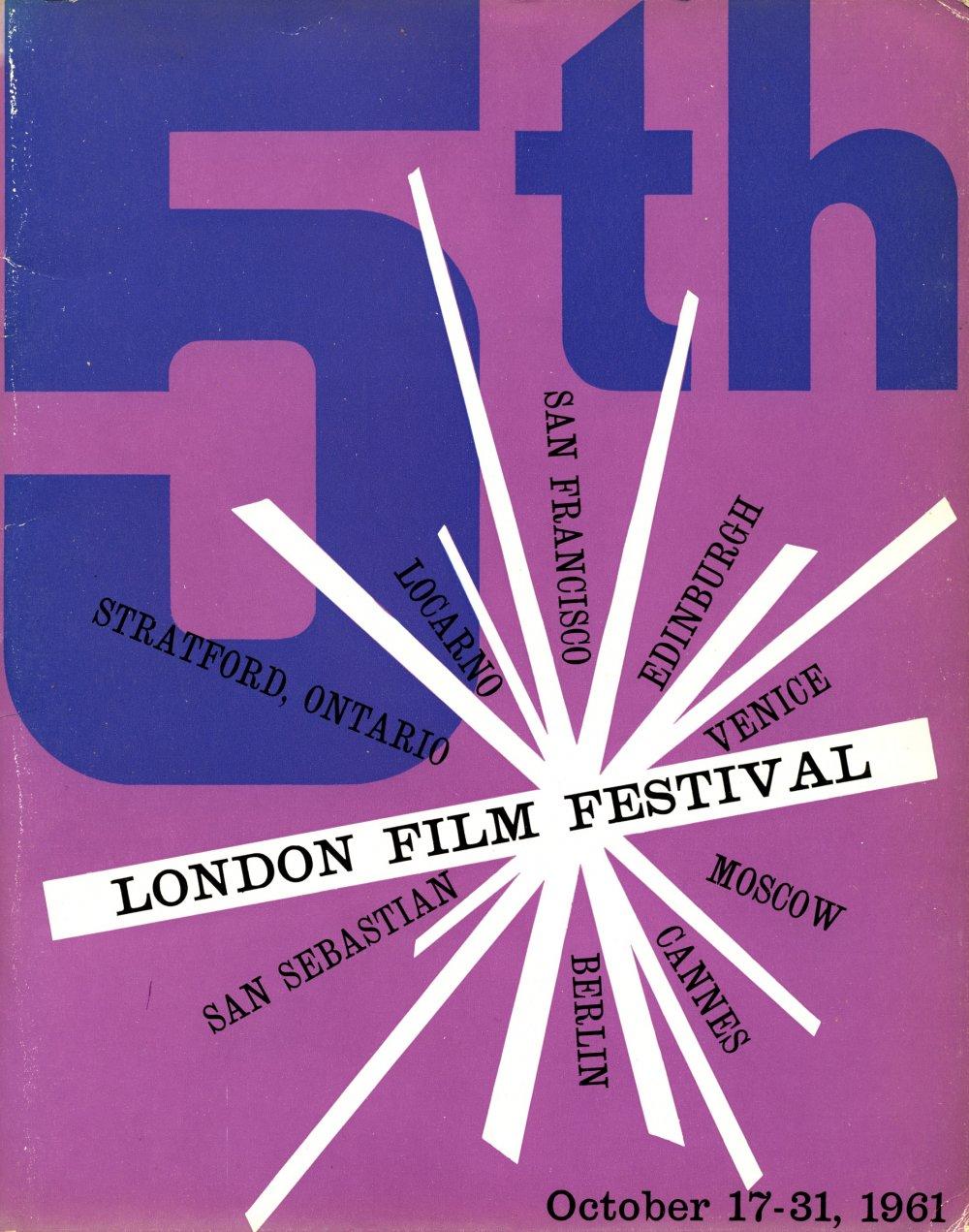 Follow The Bfi London Film Festival Live Blog 2016 Inez Ultra Defining Waterproof Mascara Blue Lff Brochure 1961